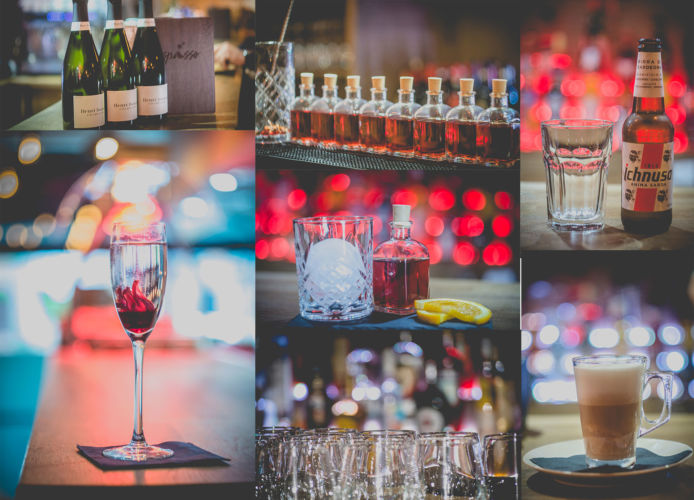 drinks collage